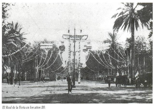 El Real de la Feria en los años 20