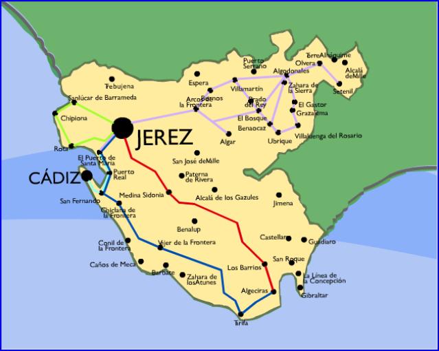 Termino municipal de Jerez