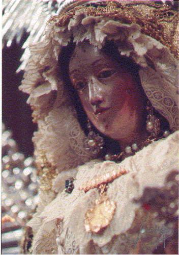 Imagen de Nuestra Señora del Rosario, de la Hermandad de la Yedra