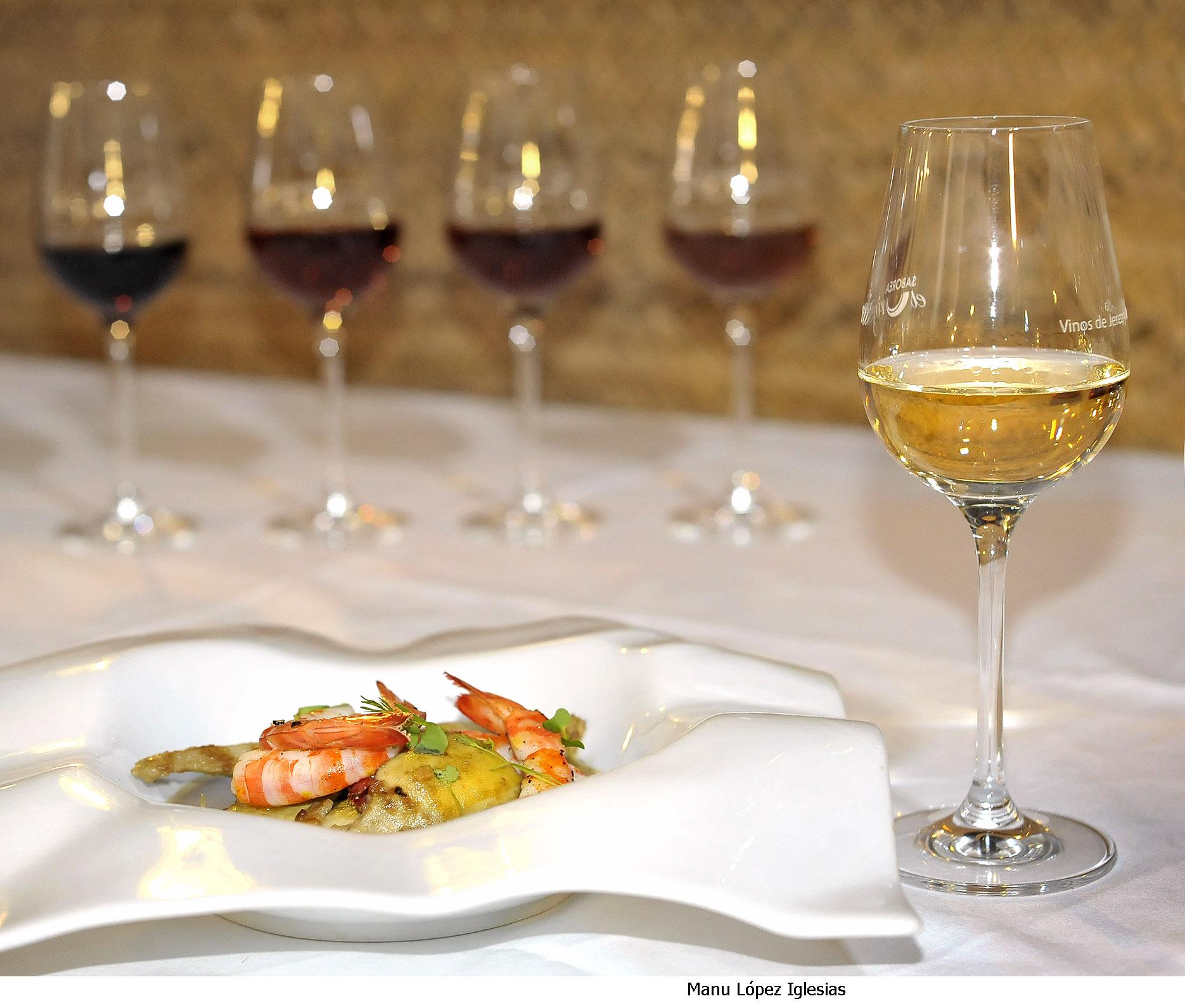 Maridaje vinos de Jerez