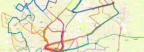 Información útil sobre la red de transporte urbano