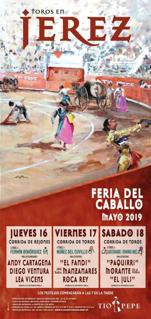 Cartel Toros 2019